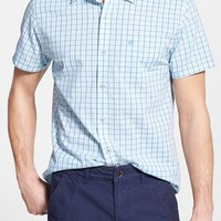 Men's Southern Tide Tailored Fit Plaid Sport Shirt,