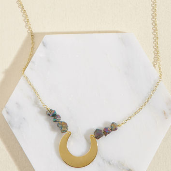 Eclectic Eccentricity Your Crescent Is Requested Necklace