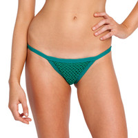 Posh Pua || Kainalu Crochet bottom in emerald