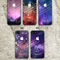 Cosmic Outer Space iPhone 5 Case, Galaxy Custom iPhone 5 5c 5s Hard Case & Rubber Case,cover skin case for iPhone 5/5c/5s case