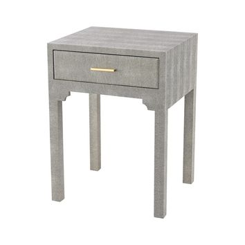 Sands Point Accent Side Table with Drawer