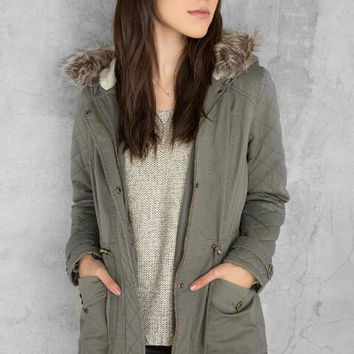 Marian Hooded Anorak Jacket