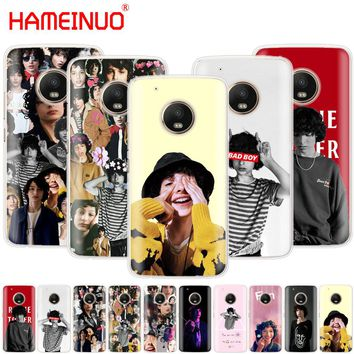 HAMEINUO Finn Wolfhard Stranger Things case phone cover For Motorola Moto X4 E4 C G6 G5 G5S G4 Z2 Z3 PLAY PLUS