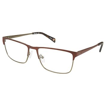 Champion - 1018 53mm Brown Green Eyeglasses / Demo Lenses