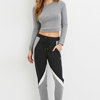 Drawstring Colorblocked Sweatpants