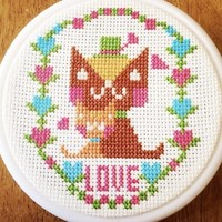 Cross stitch we love