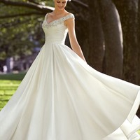 Voyage by Mori Lee 67421 A-line Wedding Dress