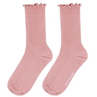 Princess Lulu Ruffle Socks | Pink