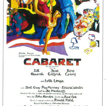 Cabaret 11x17 Broadway Show Poster (1966)