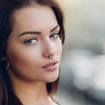 Nose Ring  Non-toxic Nose Stud Hoop Nose Jewelry 1PC