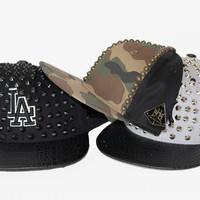 Been Here Before Camo Studded Hat - HaileyMason, LLC Store