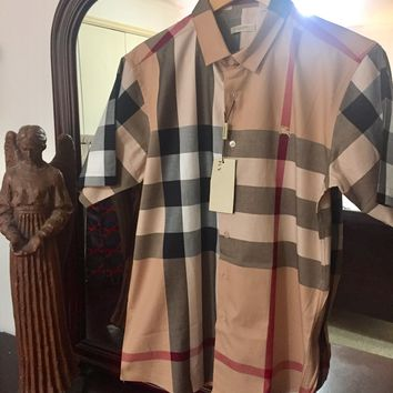 Burberry Shirt 'Size Eu. 2XL' (Beautiful, Classic Novacheck Design!!)