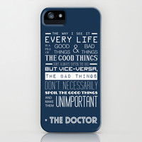 Doctor Who iPhone & iPod Case by Sarah Jane Rozman