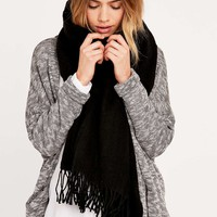 Cheap Monday Fantastic Black Scarf - Urban Outfitters