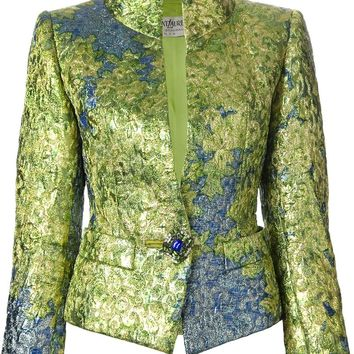 Yves Saint Laurent Vintage fitted brocade jacket