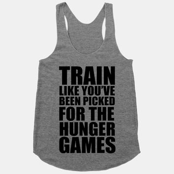 Train Like You've Been Picked For The Hunger by ActivateApparel