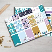 Winter Love Weekly Kit Planner Stickers HP ECLP MAMBI