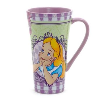 Disneyland Paris Bistro Collection Alice In Wonderland Mug | Disney Store