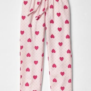 Gap Girls Heart PJ Pants