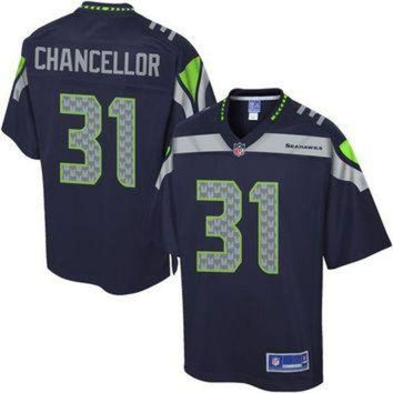 PEAPYD9 Youth Seattle Seahawks Kam Chancellor NFL Pro Line Team Color Jersey