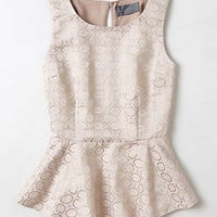 Anthropologie - Aumia Peplum Top