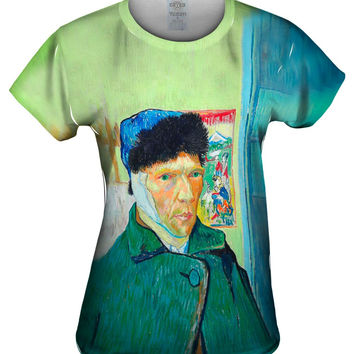 Moustache Hipster Vincent Van Gogh Self Portrait With Bandaged Ear