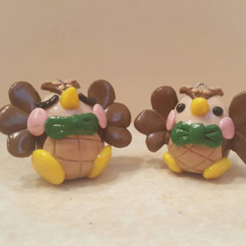 Animal Crosssing Inspired Blathers the Owl Polymer Clay Figurine