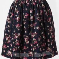 Special Moment Floral Skirt