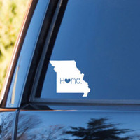 Missouri Home Decal | Missouri State Decal | Homestate Decals | Love Sticker | Love Decal  | Car Decal | Car Stickers | 065