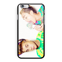 Miley Cyrus And Justin Bieber iPhone 6 Plus Case