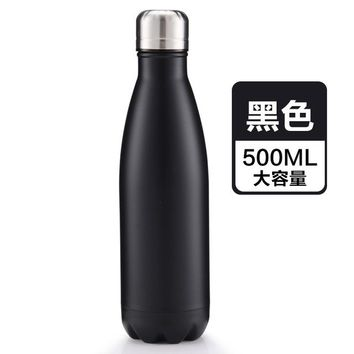 Family Friends party Board game New / 500ml stainless steel vacuum thermos bowling design vacuum bottle sports bottle coffee cup Cola bottle creative gift cup AT_41_3