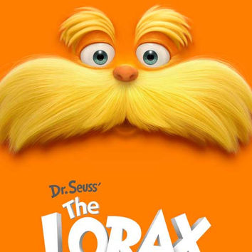 Dr. Seuss' The Lorax 11x17 Movie Poster (2012)