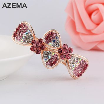 AZEMA 2017 New Design Vintage Hair Clip Barrette Hairpins Headwear Accessories Jewelry For Woman Girls Beauty Wedding FJ-12-2