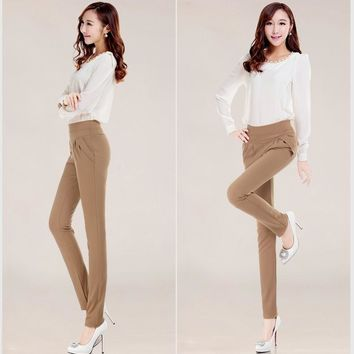 Womens Casual Leisure Office Pants