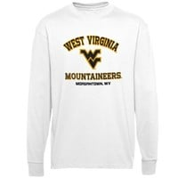 West Virginia Mountaineers Campus Long Sleeve T-Shirt - White