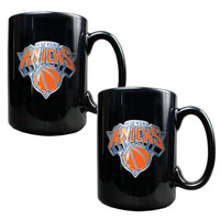 NBA New York Knicks Black Coffee Mug