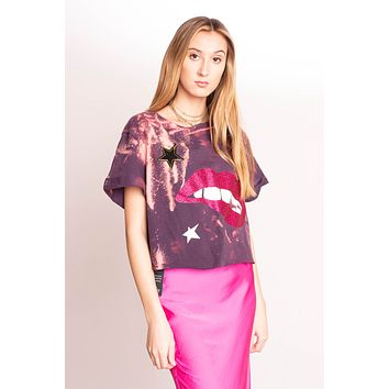 Libby Story OOAK Cowboys Two Way Tee