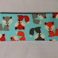 Fox Little Zipper Pouch