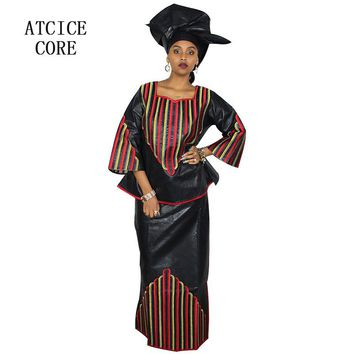 100% COTTON NEW AFRICAN FASHION DEISGN BAIZN RICHE EMBROIDERY DESIGN DRESS african clothes