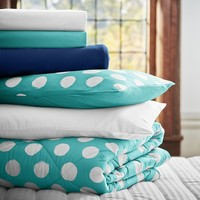 Dot Chic Deluxe Bedding Set, Pool