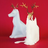 REINDEER PYROPET CANDLE