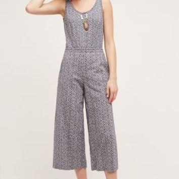 Elevenses Windward Jumpsuit in Blue Size: