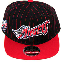 California Angels Dotty Pin Snapback
