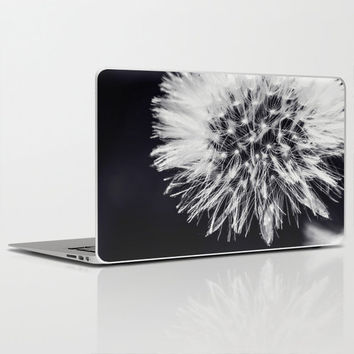 "Dandelion Dream - Laptop Skins for MacBook Air/ Pro/ Retina 11"" 13"" 15"" 17"" and PC Laptops 13""15""17"" - Modern Gift - Computer Accessory"