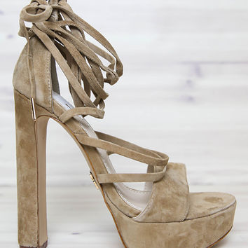 Windsor Smith - Mixxer Heel - Sand Suede