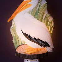 Pelican Night Light by Ibis & Orchid Design