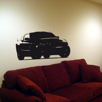 Wall Decal Mural 2010 Volkswagen Golf 008 FRST