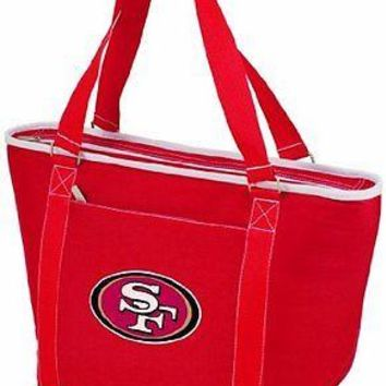 PICN-619001002742-NFL San Francisco 49ers Topanga Insulated Cooler Tote, Red