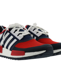 Adidas Men White Mountaineering Trail NMD Sneakers