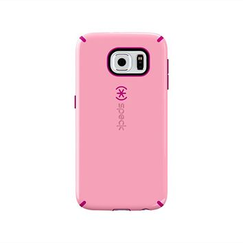 Speck Products CandyShell Case for Samsung Galaxy S6 - Retail Packaging - Carnation Pink/Lipstick Pink